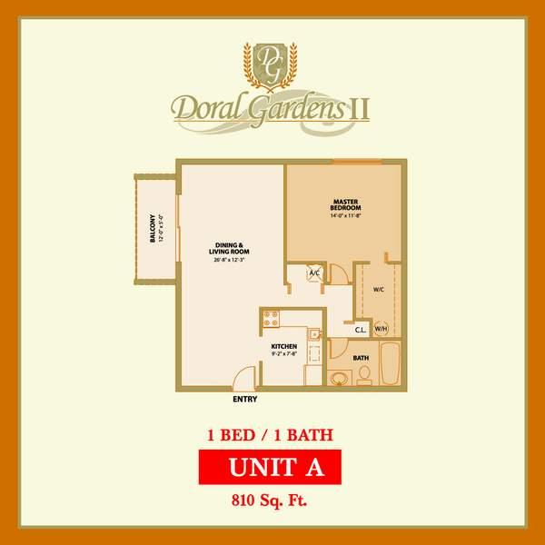 Doral Gardens Ii Floorplans